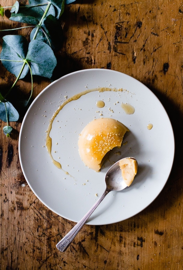 Maple Butternut Squash Panna Cotta {via @amandapaa}