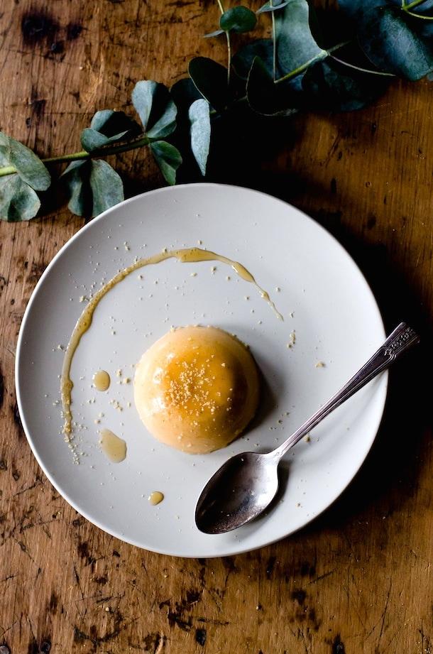easy and elegant: Maple Butternut Squash Panna Cotta