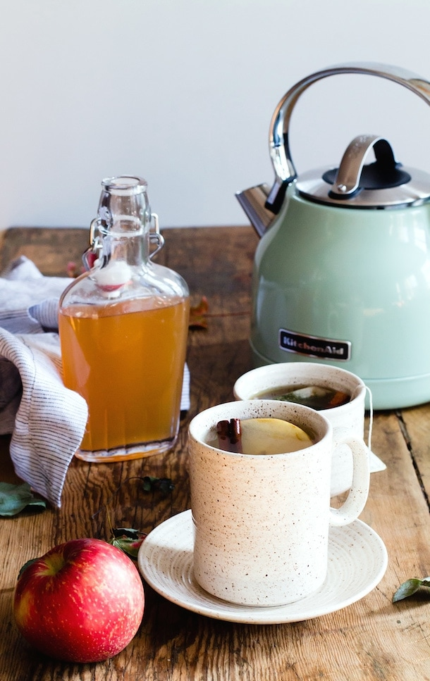 Spiced Apple Shrub Hot Toddy {via heartbeet kitchen}