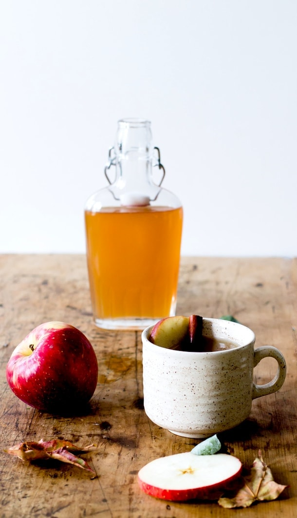 Spiced Apple Shrub Hot Toddy