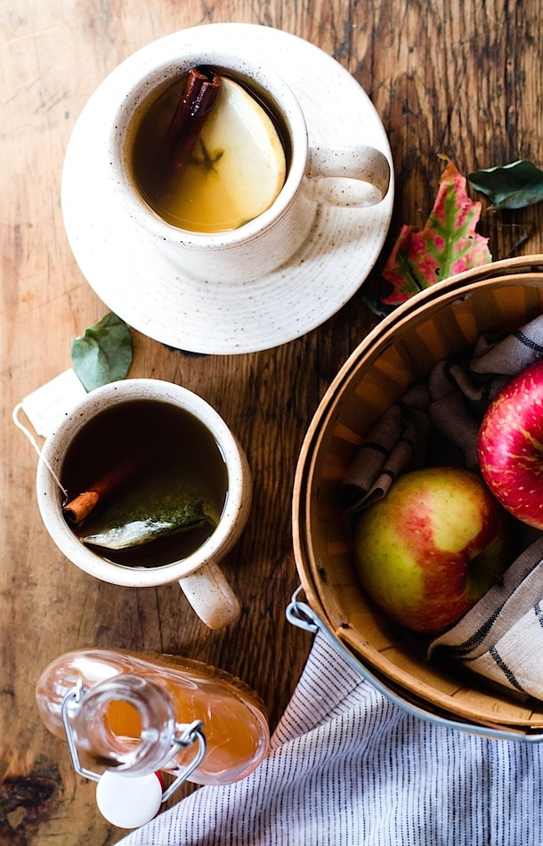 Hot Apple Shrub Cider {trendy twist on apple cider}