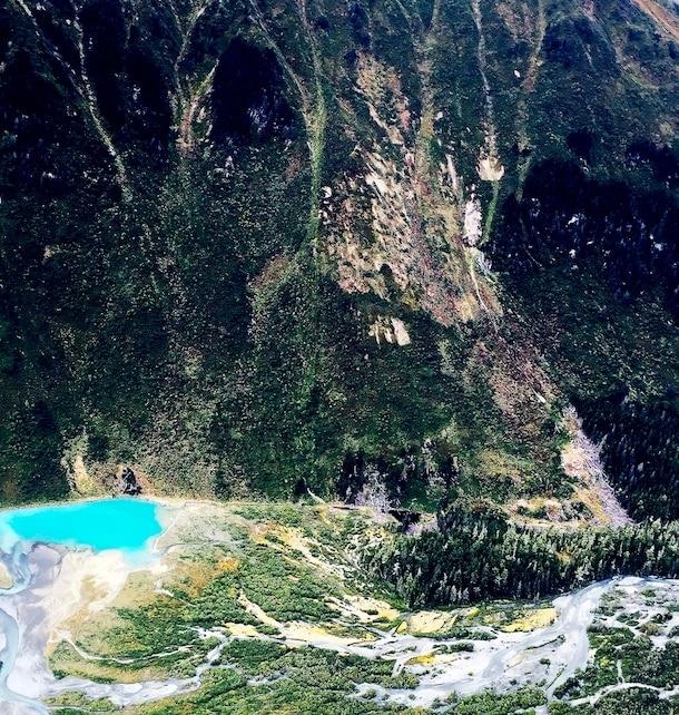 Copper River Delta, aerial vew