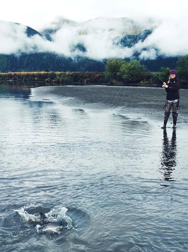 Coho Salmon - Fishing in Cordova, Alaska