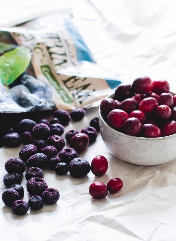 Cranberry Blueberry Mini Galettes {gluten-free}