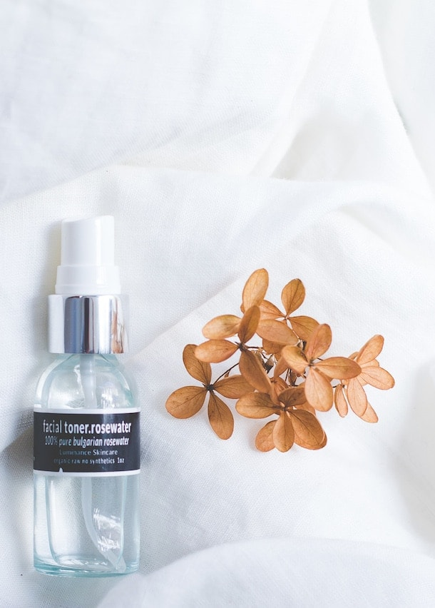Luminance Rosewater: important step to correcting dry facial skin, oily facial skin or skin that vacillates between the two