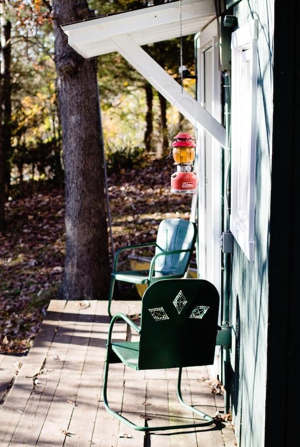 Camp Wandawega cabin