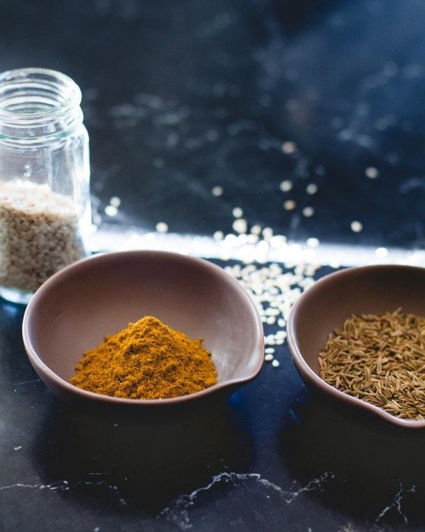 Sesame Curry Cashews {paleo, vegan}