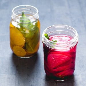 Fermented Beets with Basil & Cumin {recipe}