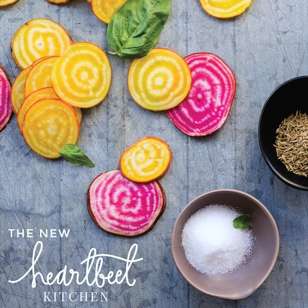 Heartbeet Kitchen ~ a food blog redesign