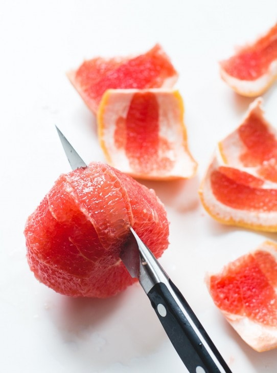 How to Segment a Grapefruit, The Easy Way {step-by-step photos}