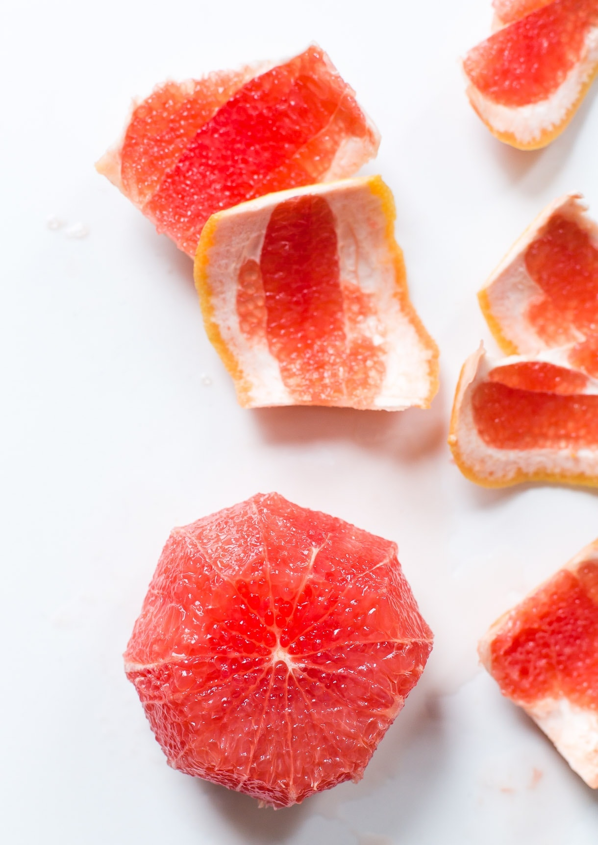 How to Peel a Grapefruit, The Easy Way {step-by-step photos}
