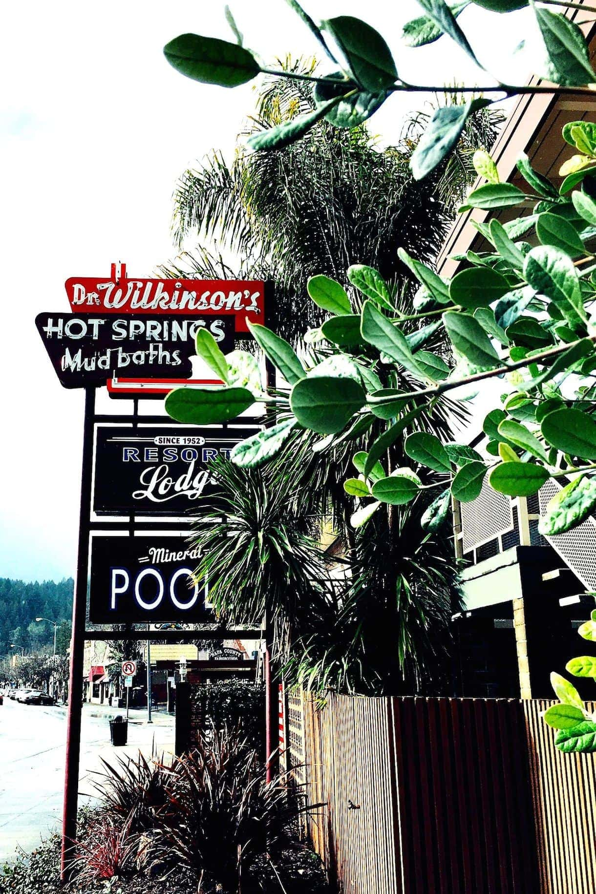 Calistoga Hot Springs & Mud Baths