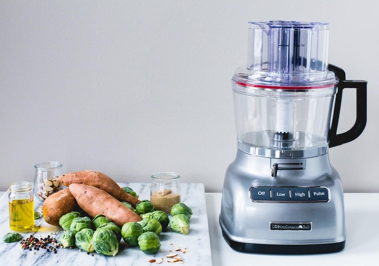 KitchenAid ExactSlice Food Processor.