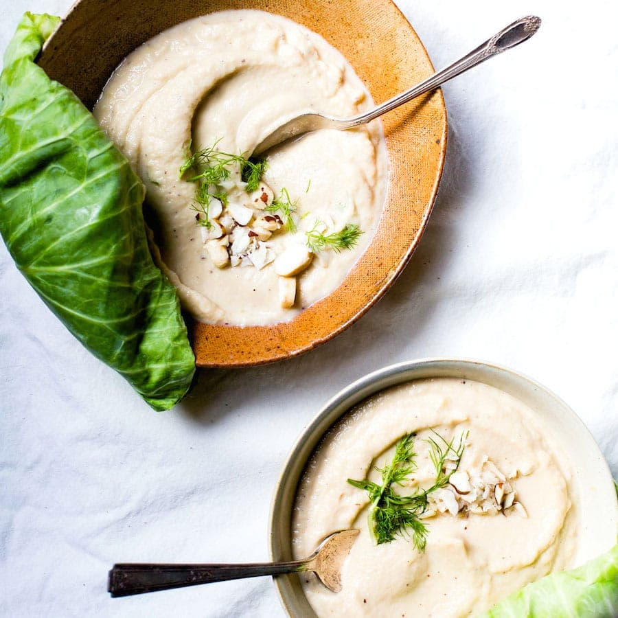 Nutty Cabbage Fennel Soup + Collagen Superboost