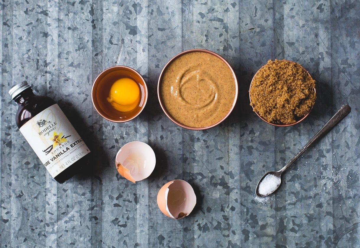 Incredible Flourless Almond Butter Cookies {heartbeet kitchen blog}