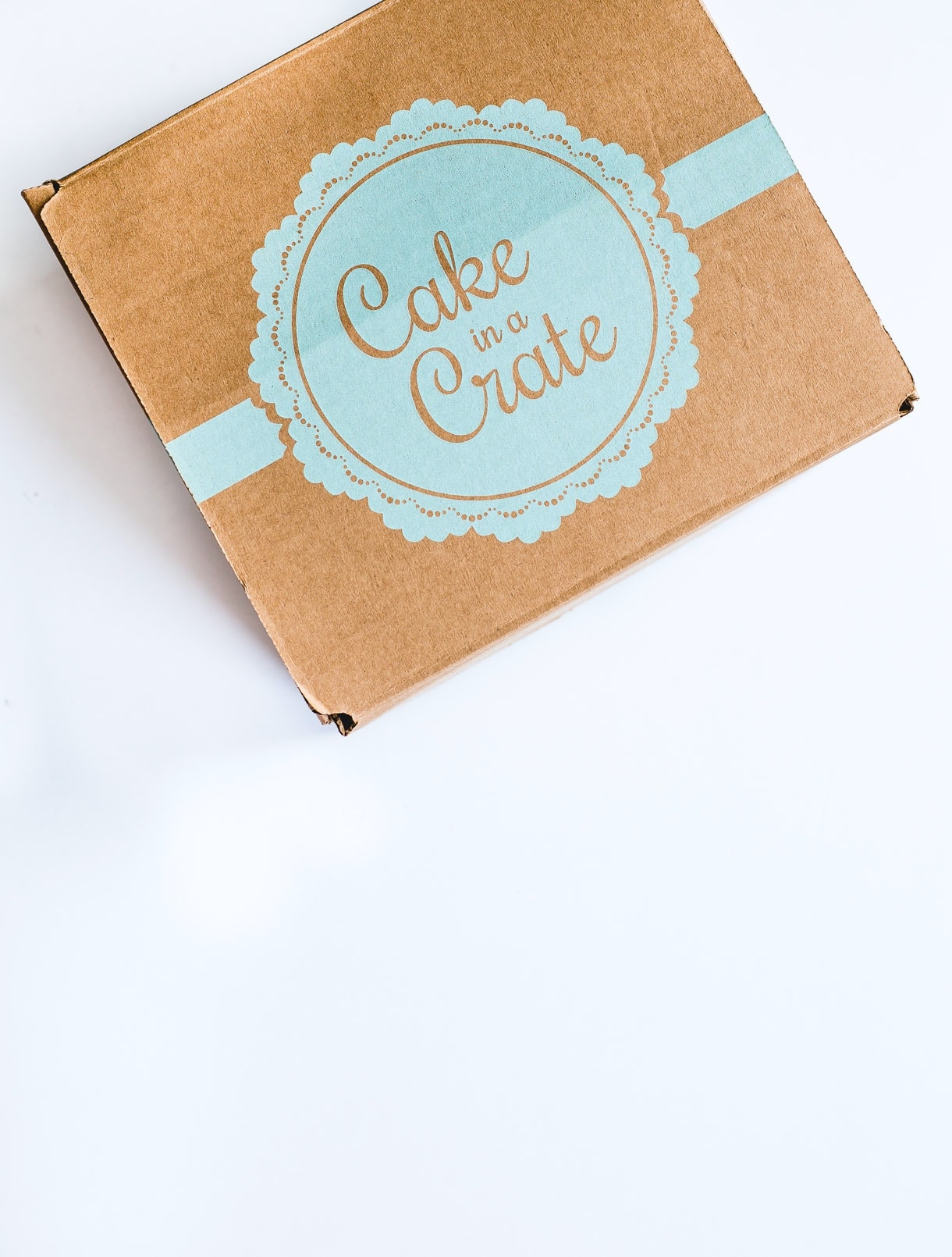 Order your Cake in a Crate!