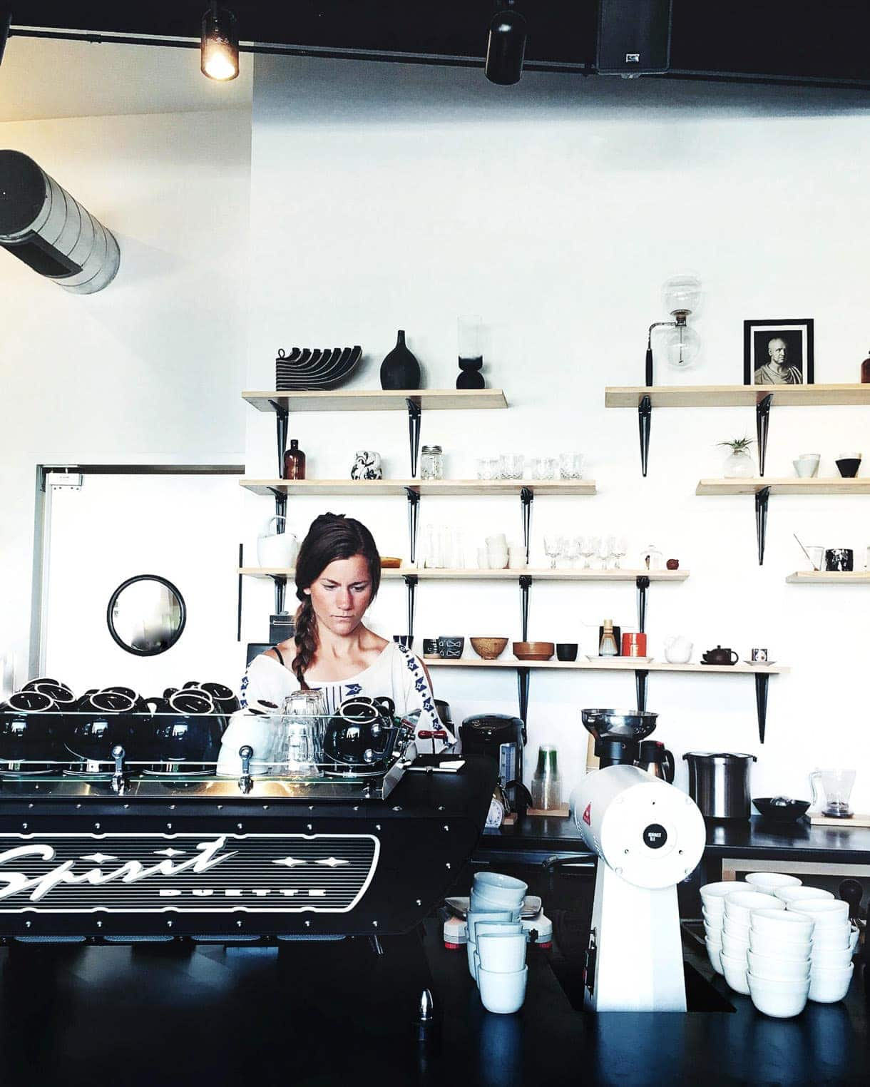 BLK Market Coffee ~ Michigan {vintage coffee vibe}