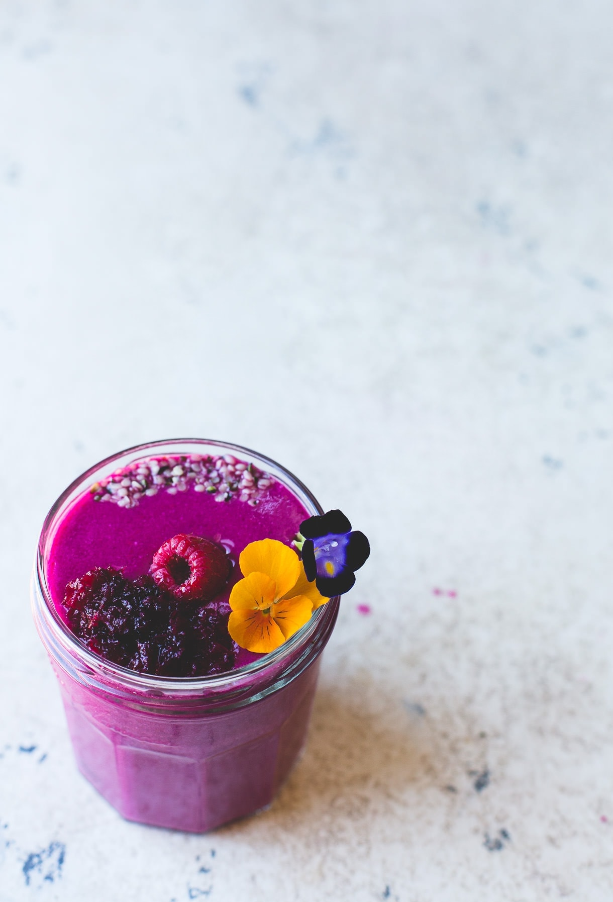 Raspberry Beet Smoothie {vegan}