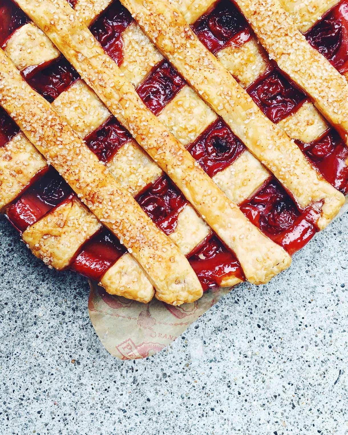 Tart Cherry Pie {photo by Heartbeet Kitchen}