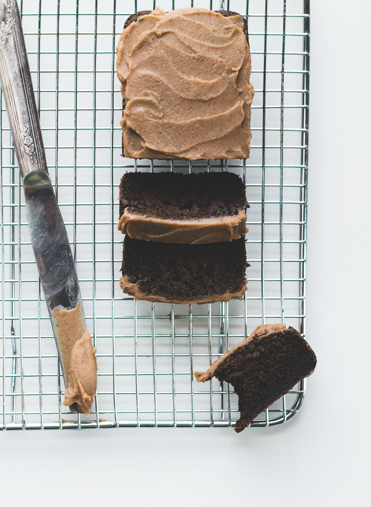 """Chocolate"" Carob Bread with Date Caramel Frosting {AIP/Paleo}"