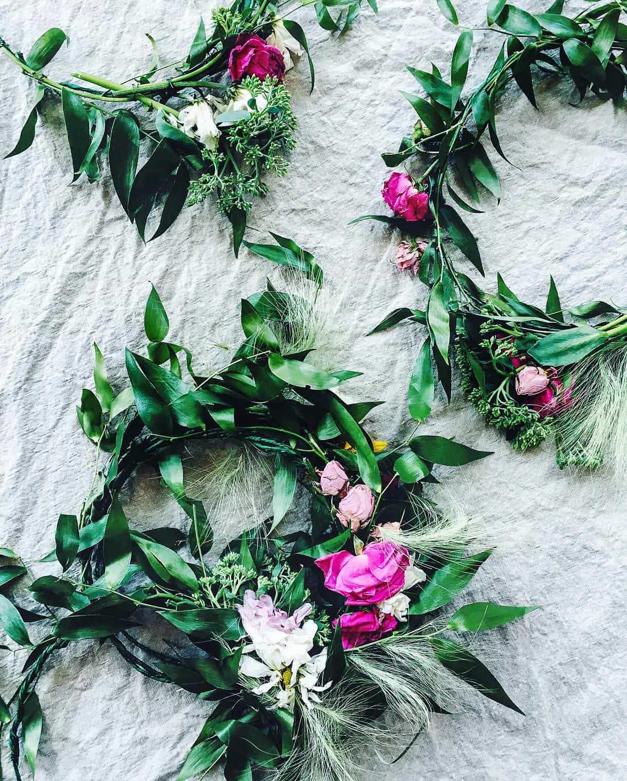 Handmade Flower Crowns