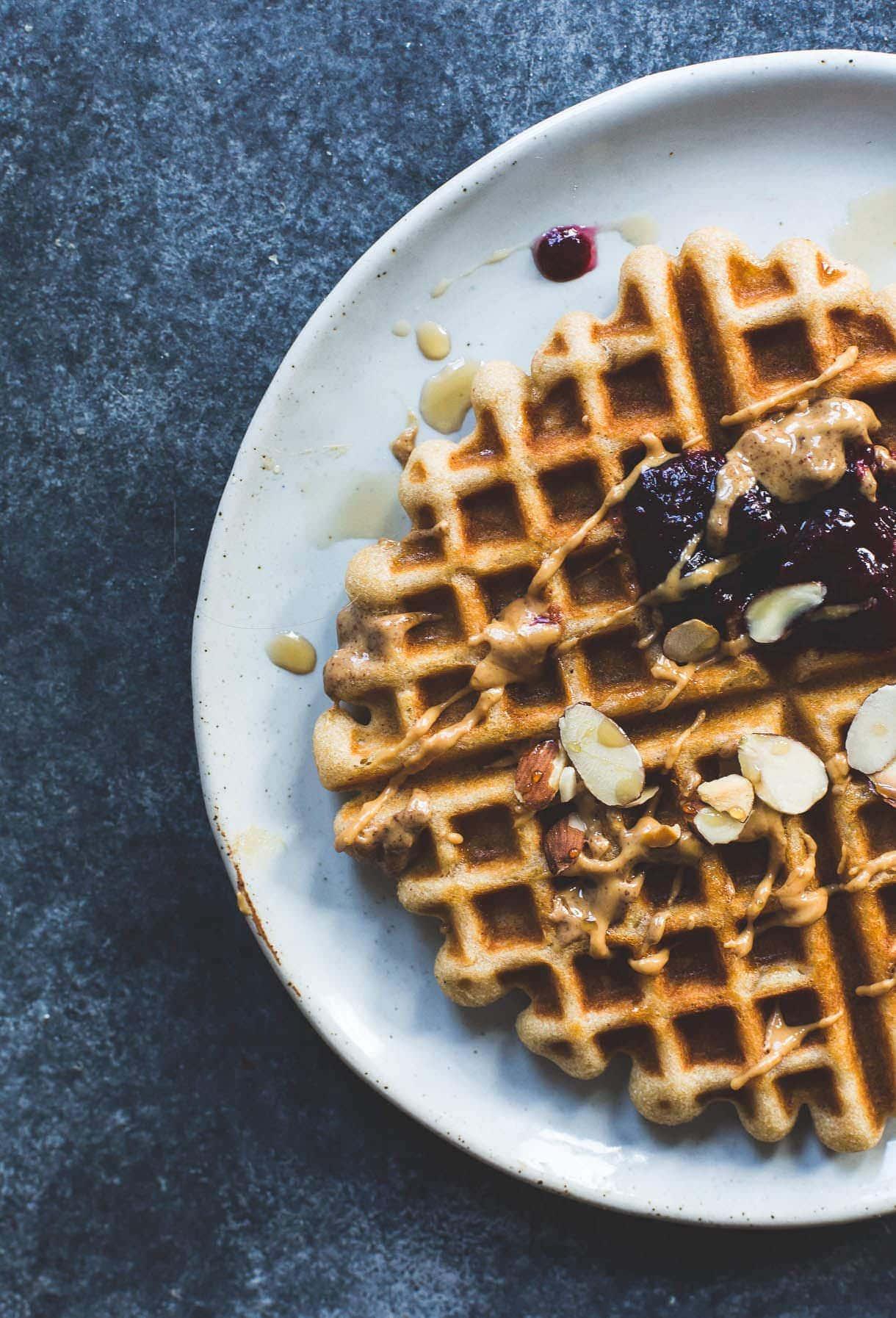Gluten-Free Kefir Waffles {no gums}