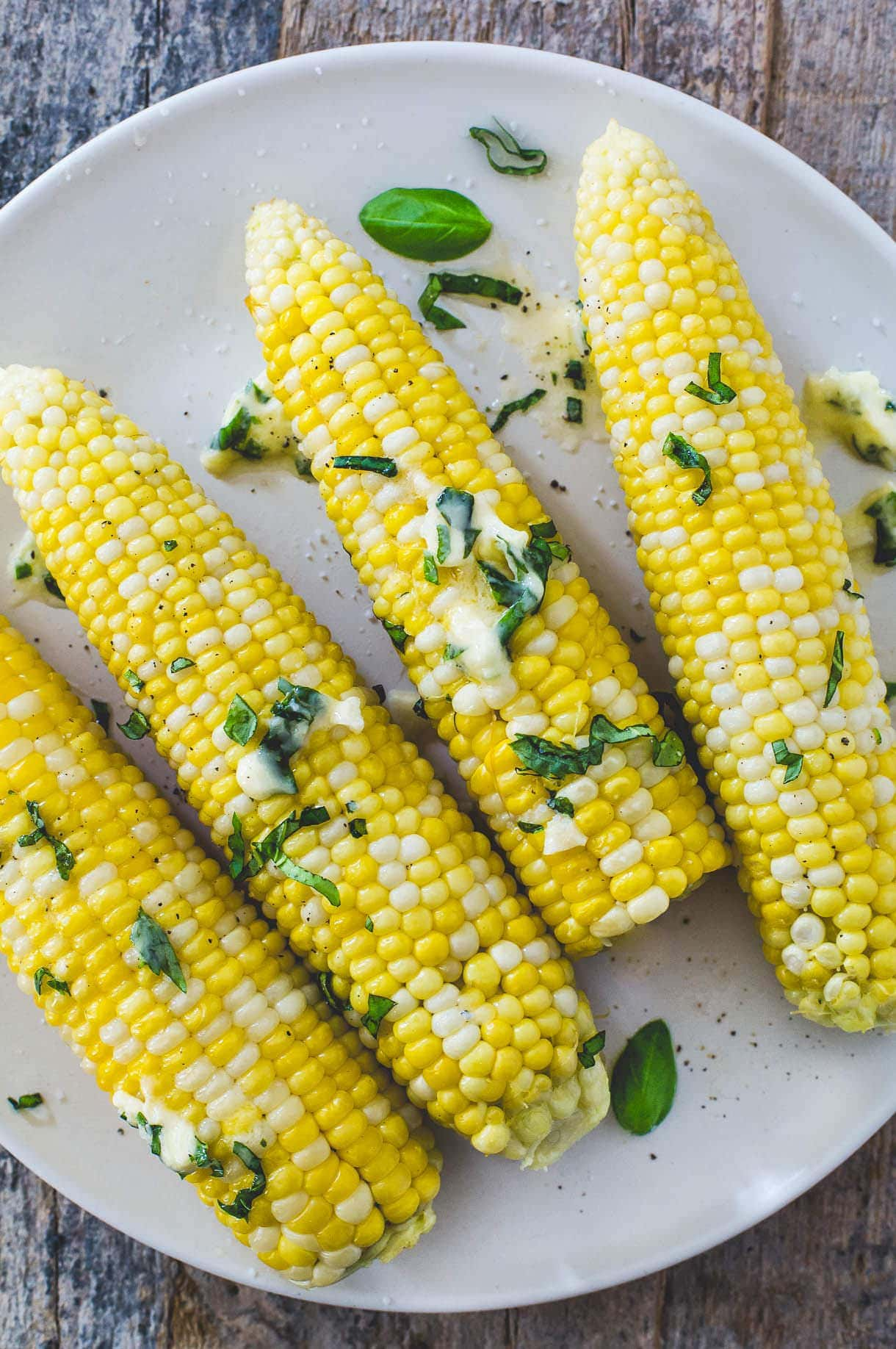 Herb Buttered Corn on the Cob+ how to video