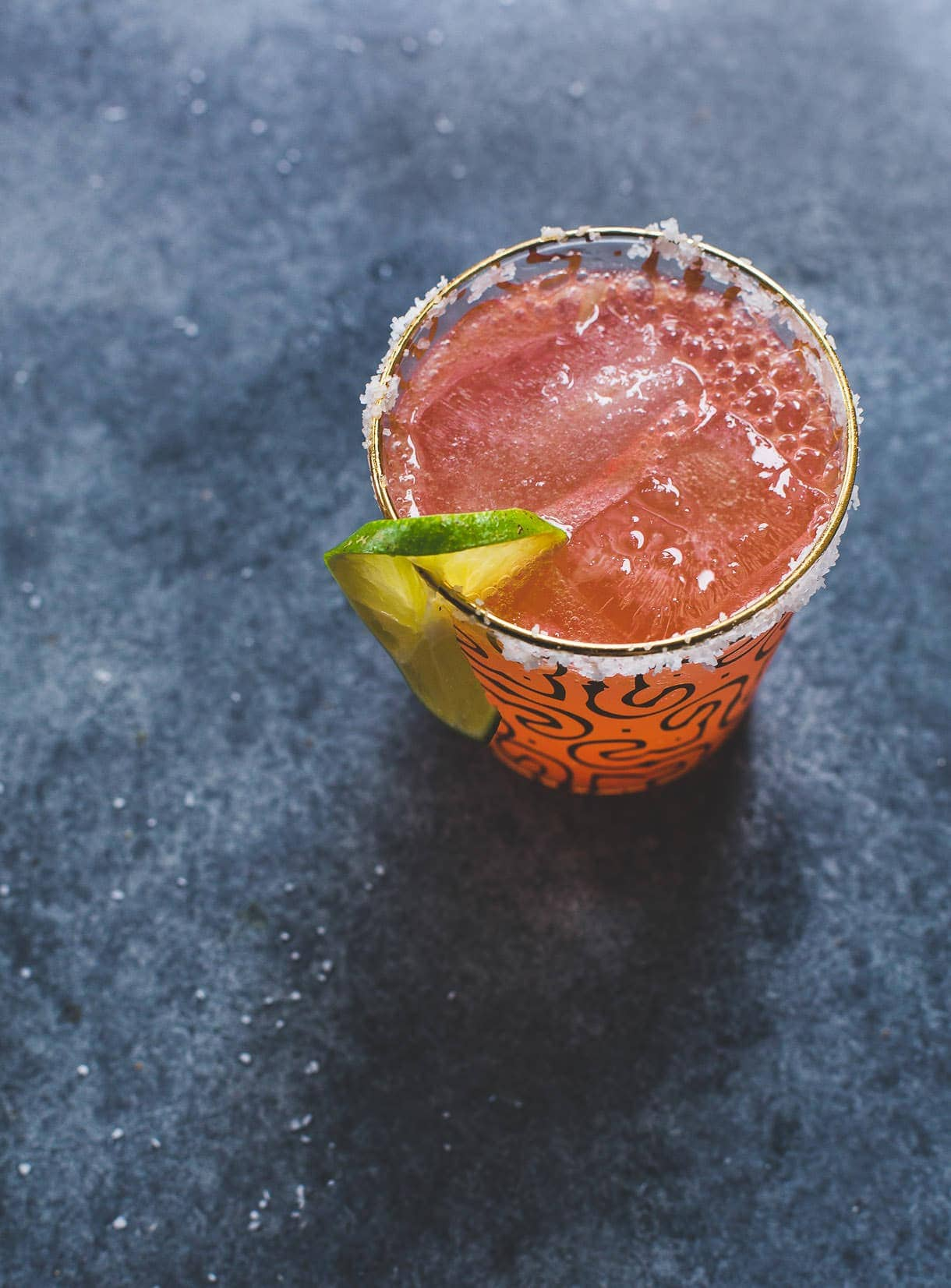 Salty Watermelon Shrub Elixir {heartbeet kitchen blog}