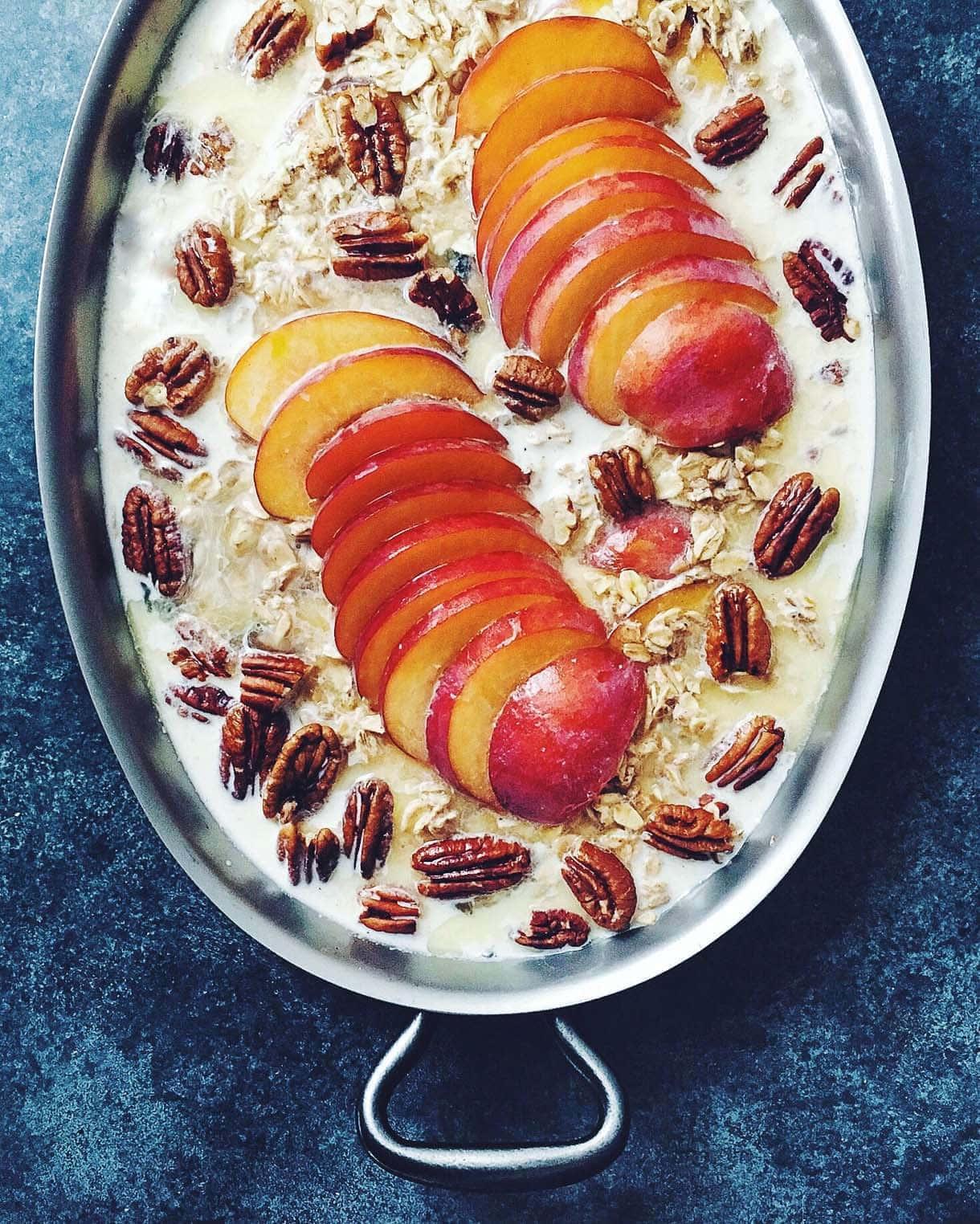 Gluten-Free Peach Baked Muesli