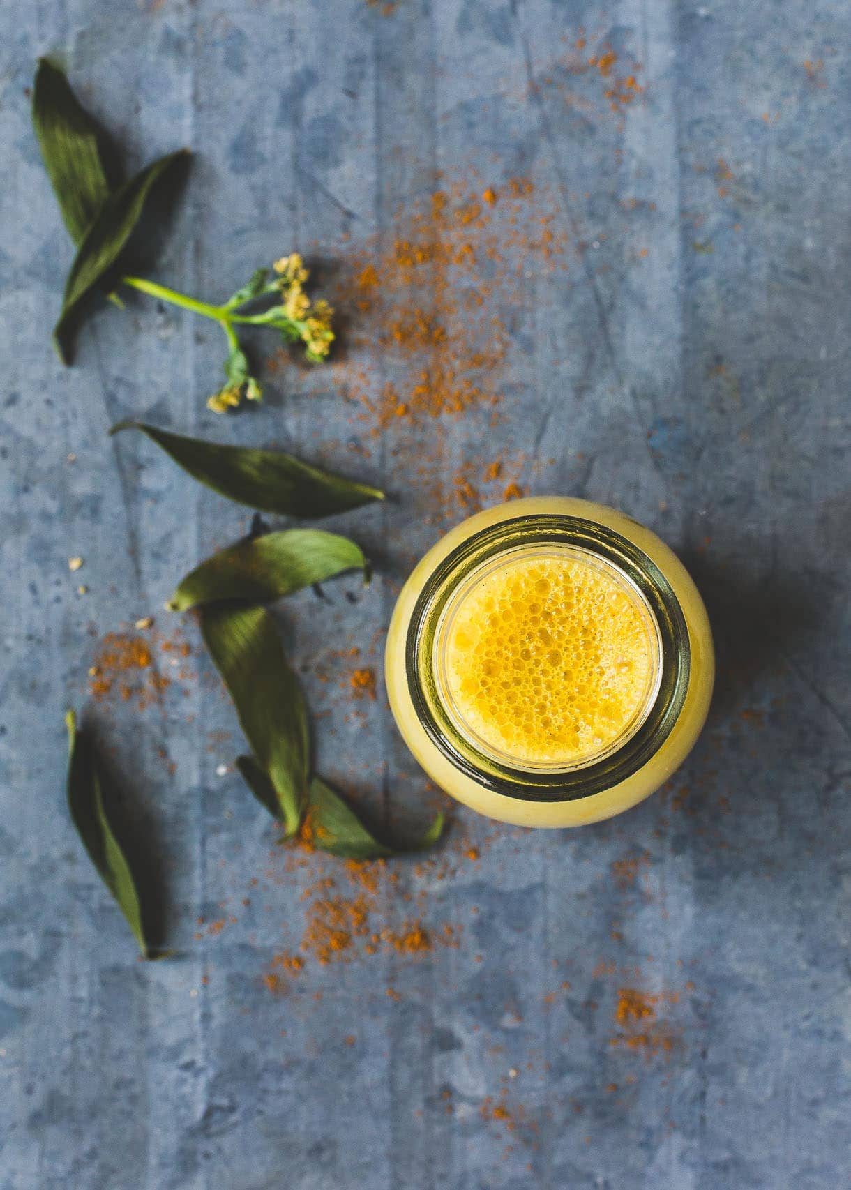 Chilled Golden Turmeric Milk ~ the beverage you should be drinking for health