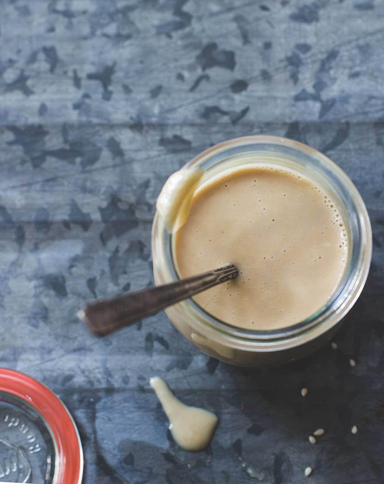 Homemade Tahini: the simple, easy way.