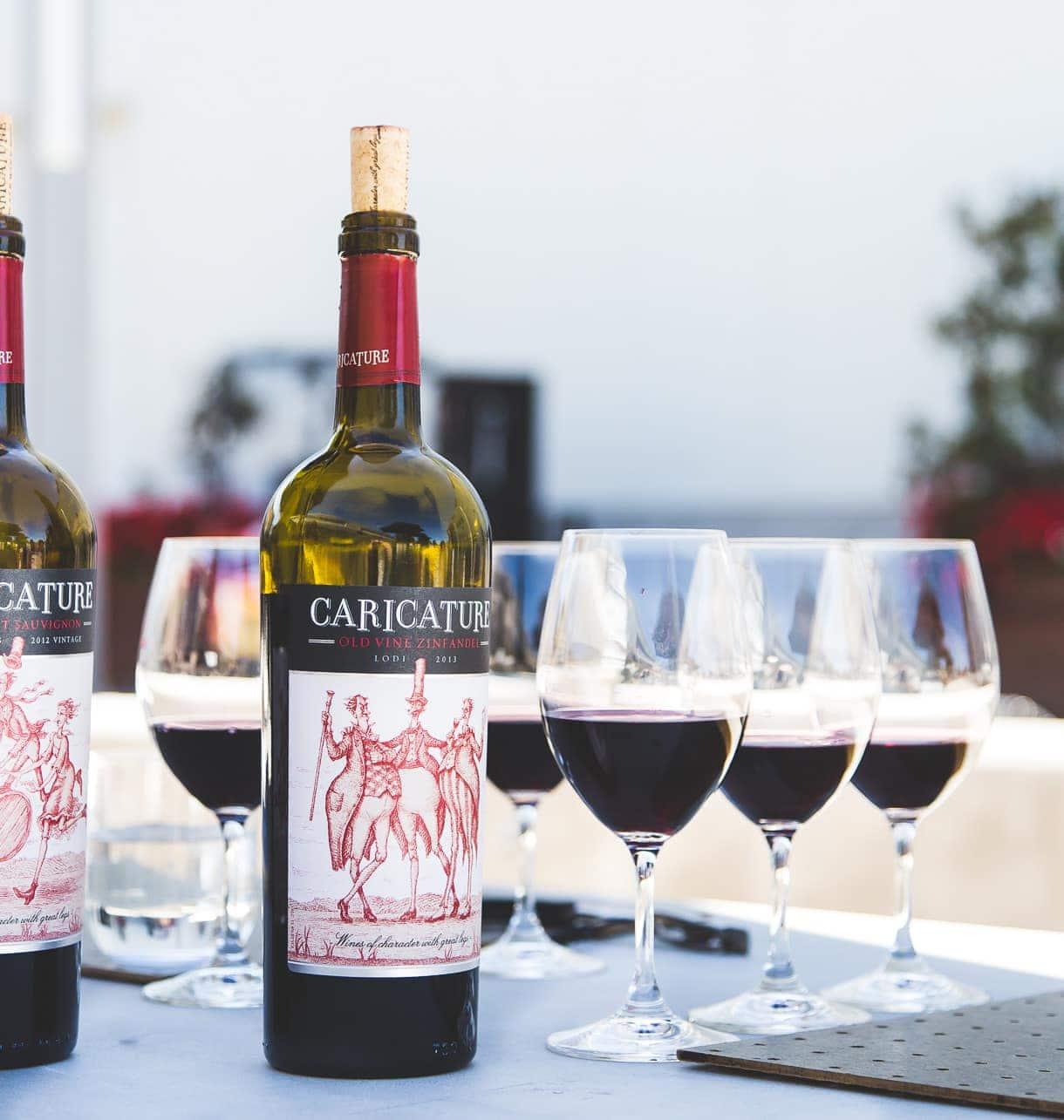Caricature Wine by Lange Twins Family Vineyard {Lodi, California}