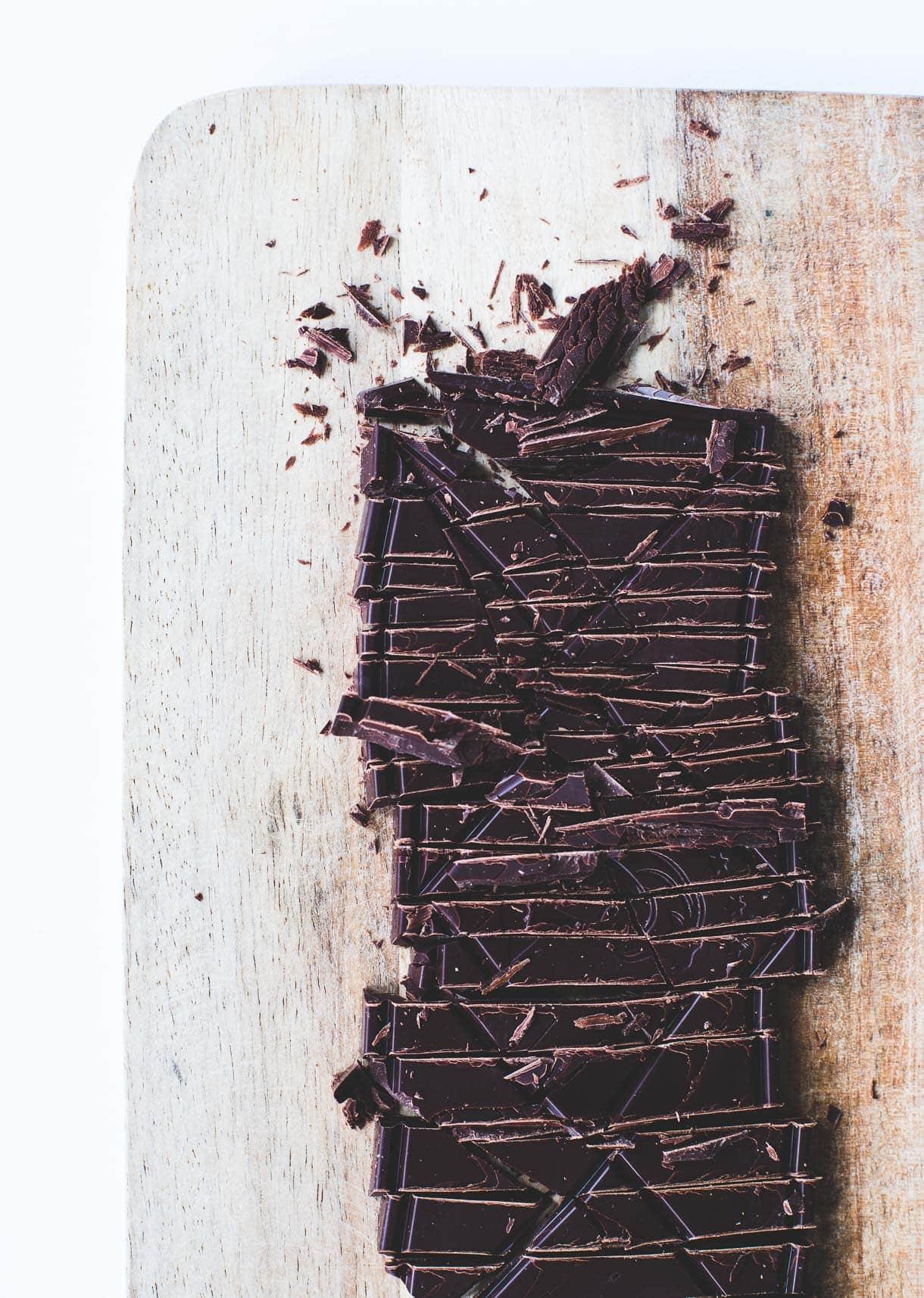 Dark Chocolate Brownies {gluten-free}