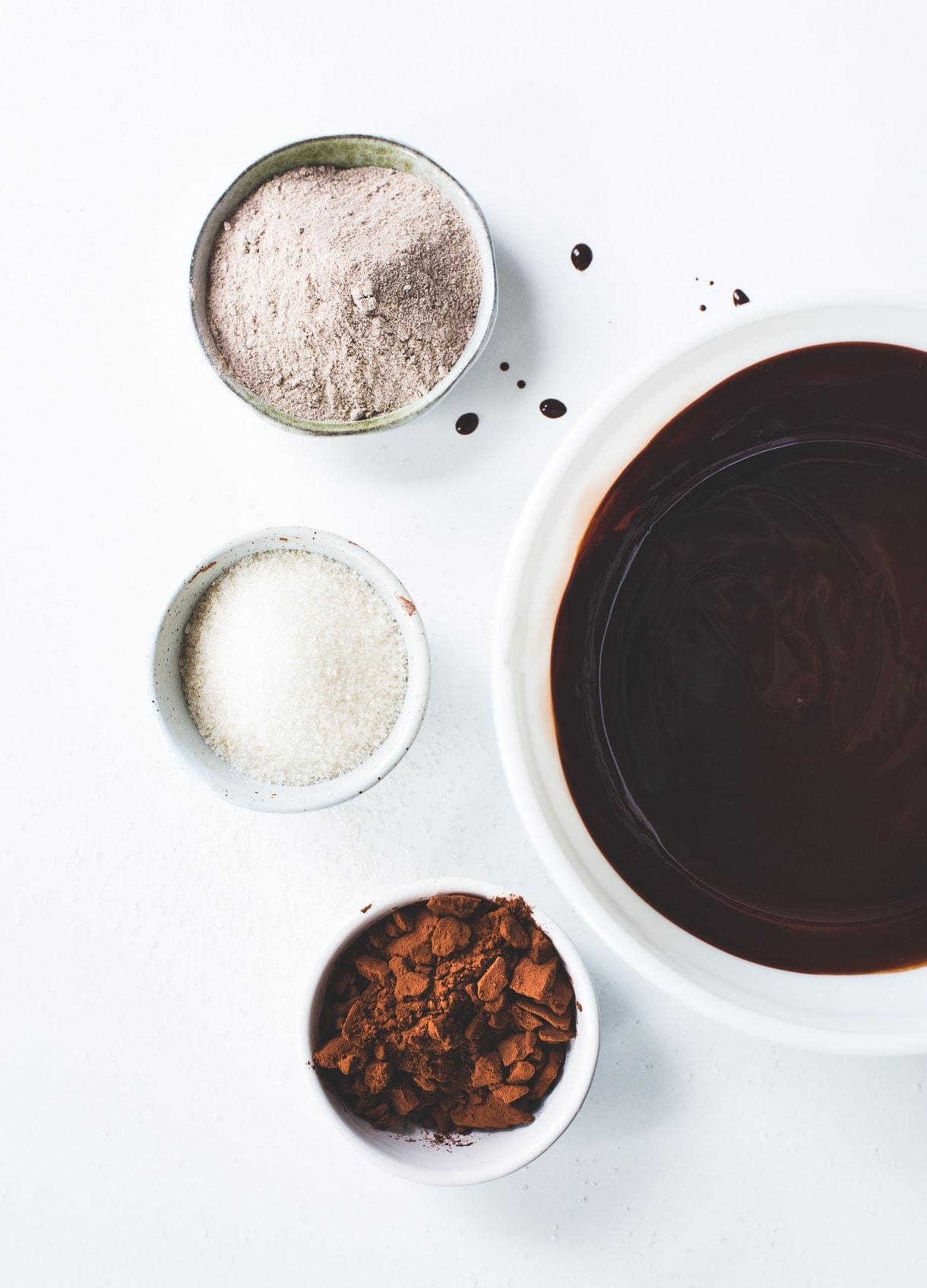 Teff Flour Brownies {gluten-free}