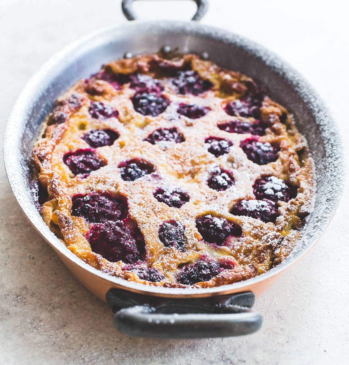 Blackberry Baked Pudding