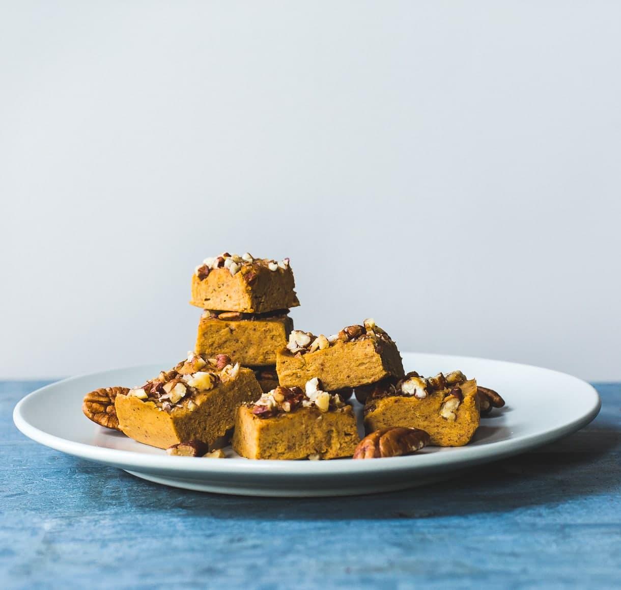 Magic Vegan Pumpkin Pie Fudge