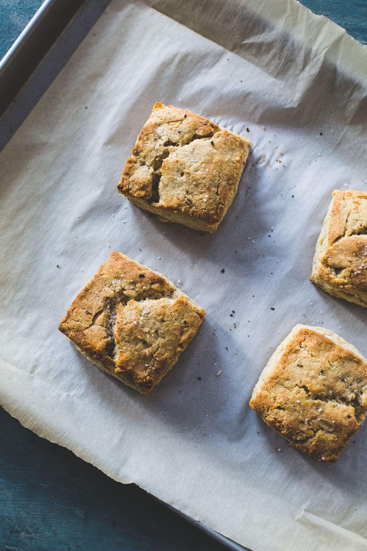 Life Changing Gluten-Free Biscuits {gum-free, nut-free} alternative grain baking