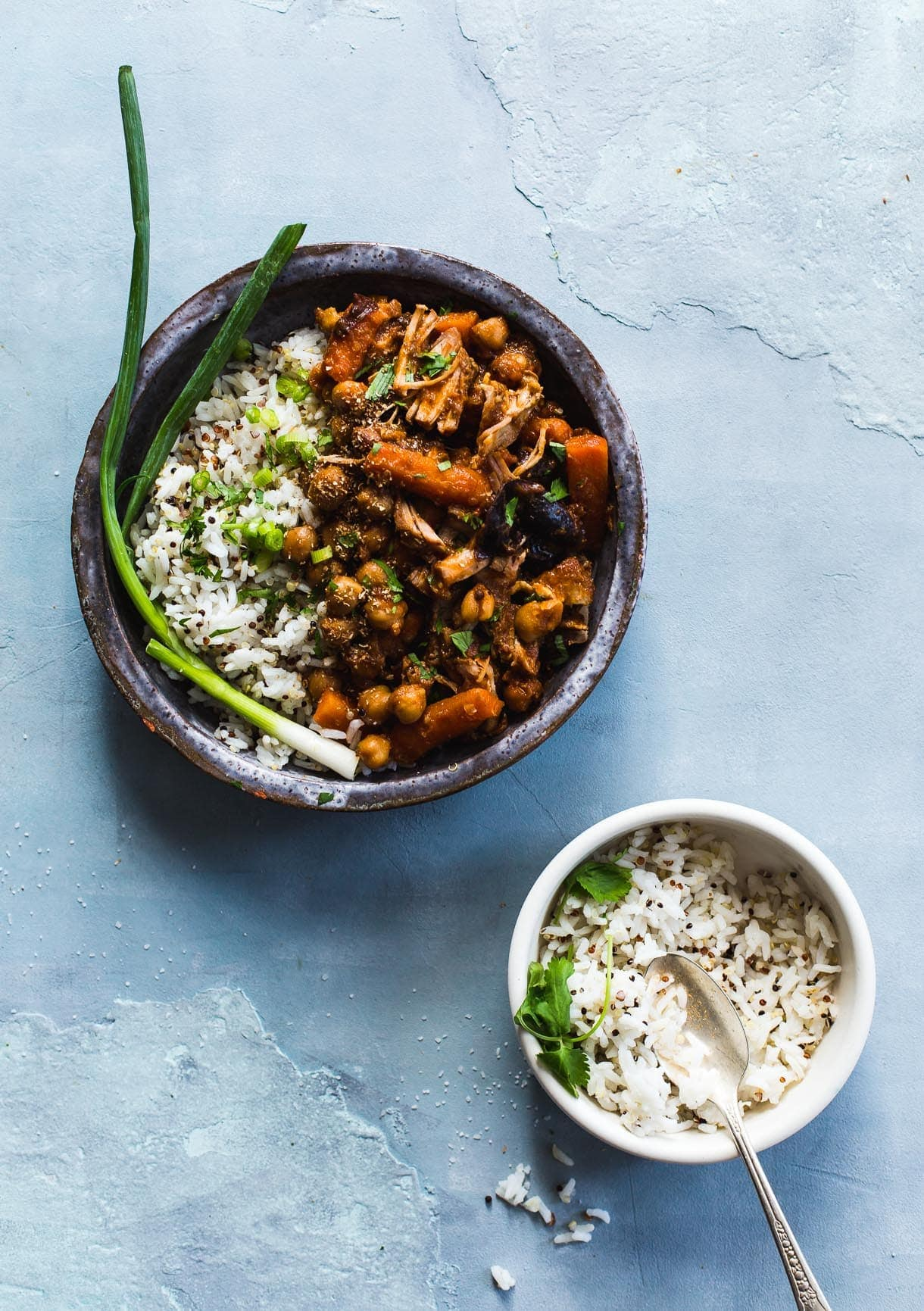 Three-Spice Pork with Chickpeas and Carrots {heartbeet kitchen}
