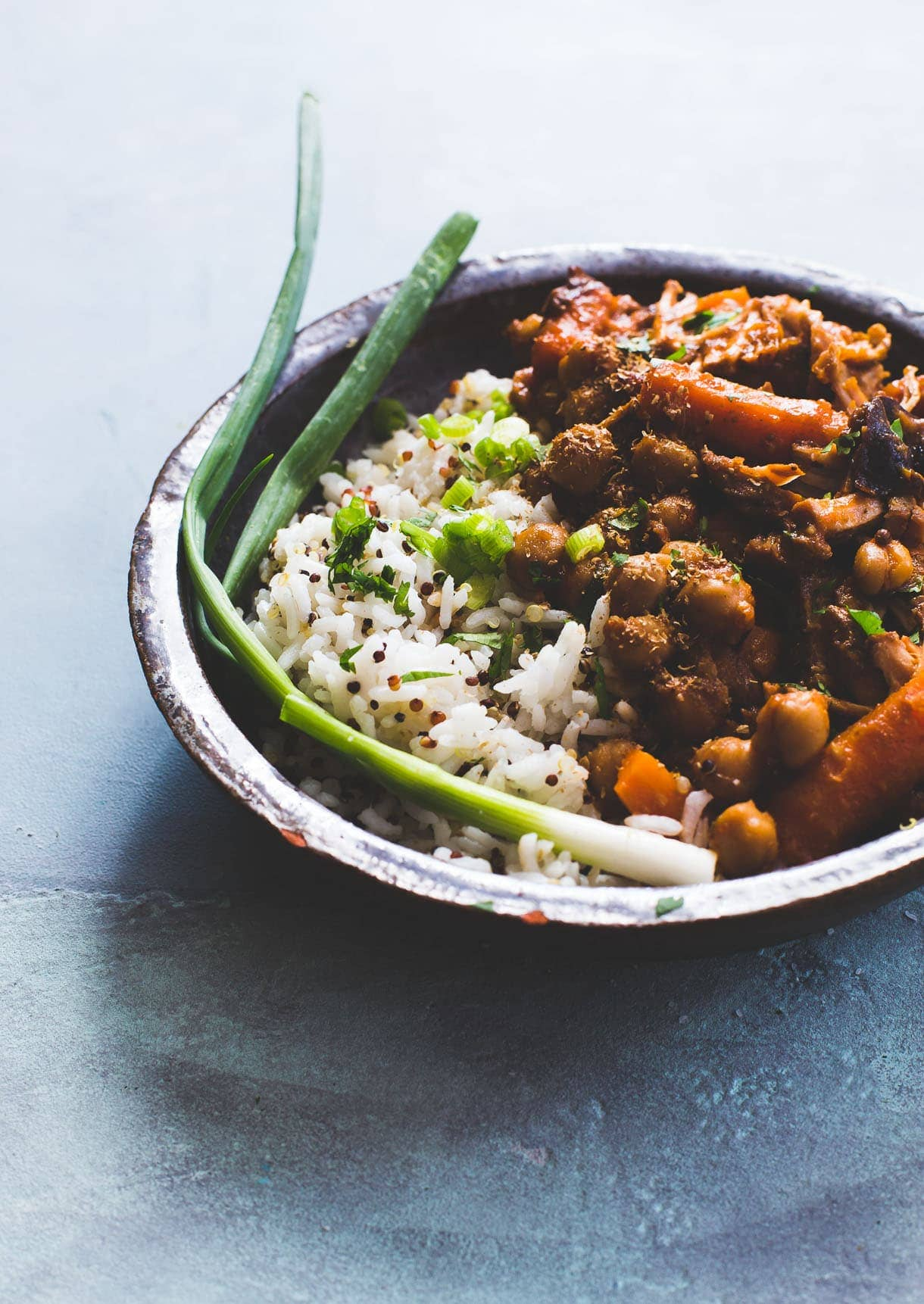 Three Spice Pork with Chickpeas and Carrots {heartbeet kitchen} gluten-free, dairy-free