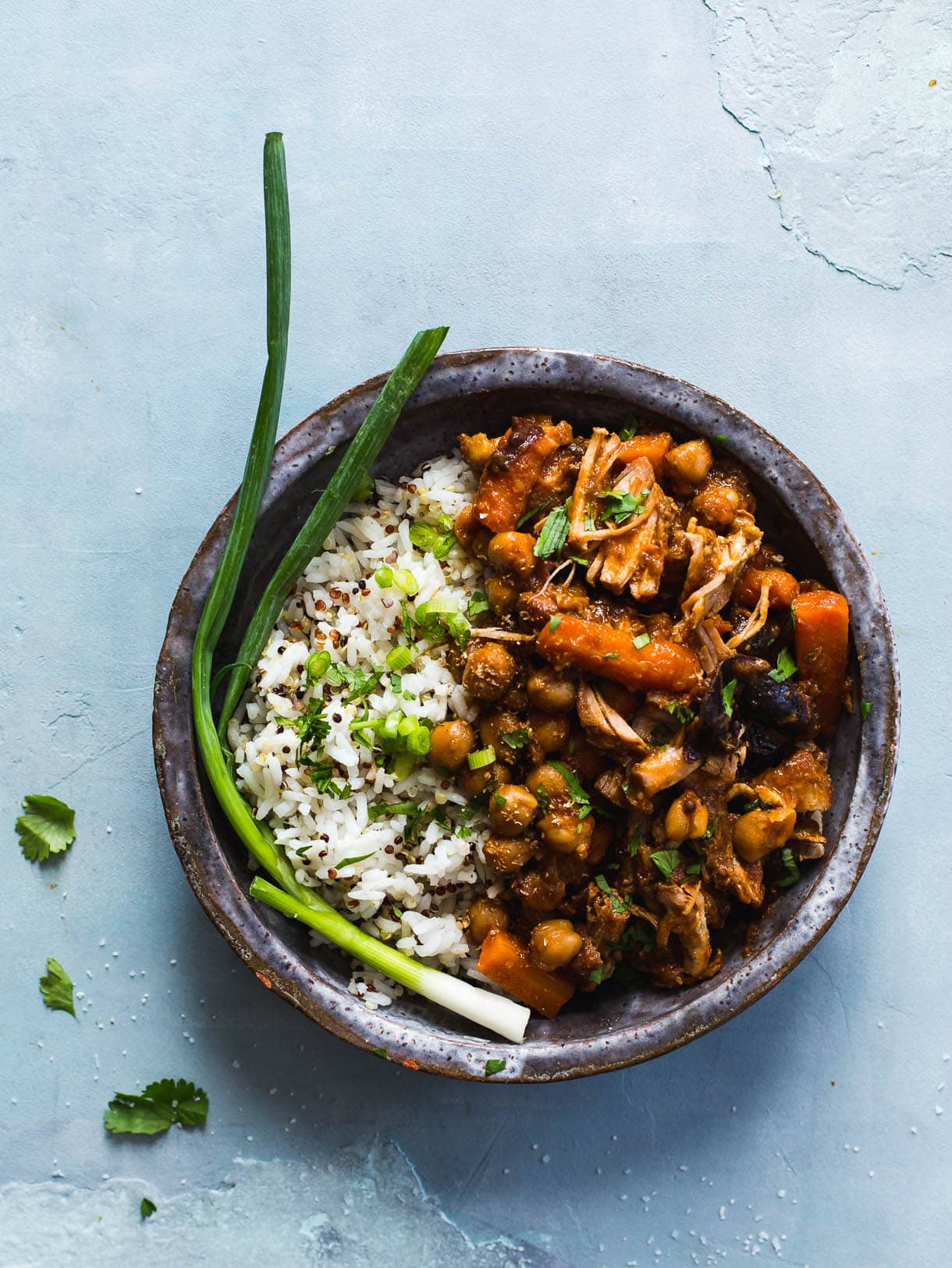 Three-Spice Pork with Chickpeas and Carrots {heartbeet kitchen} gluten-free, dairy-free