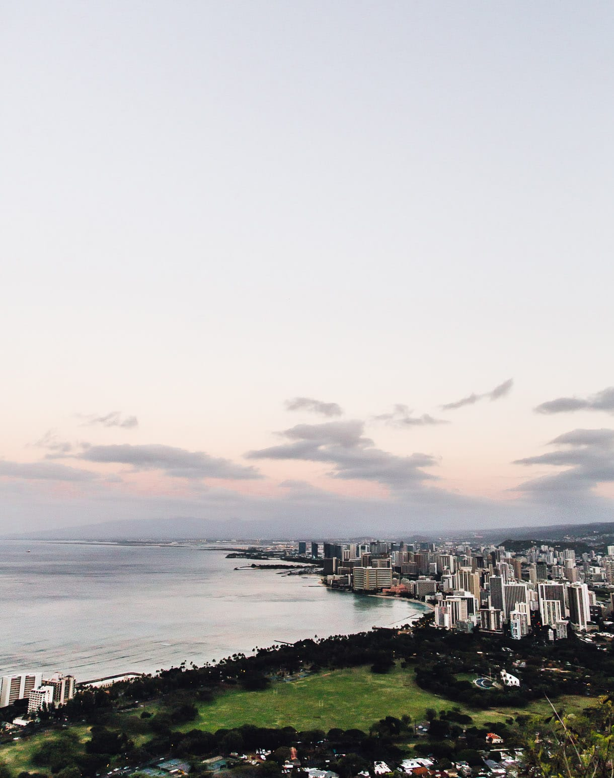 City View from Diamond Head, Oahu