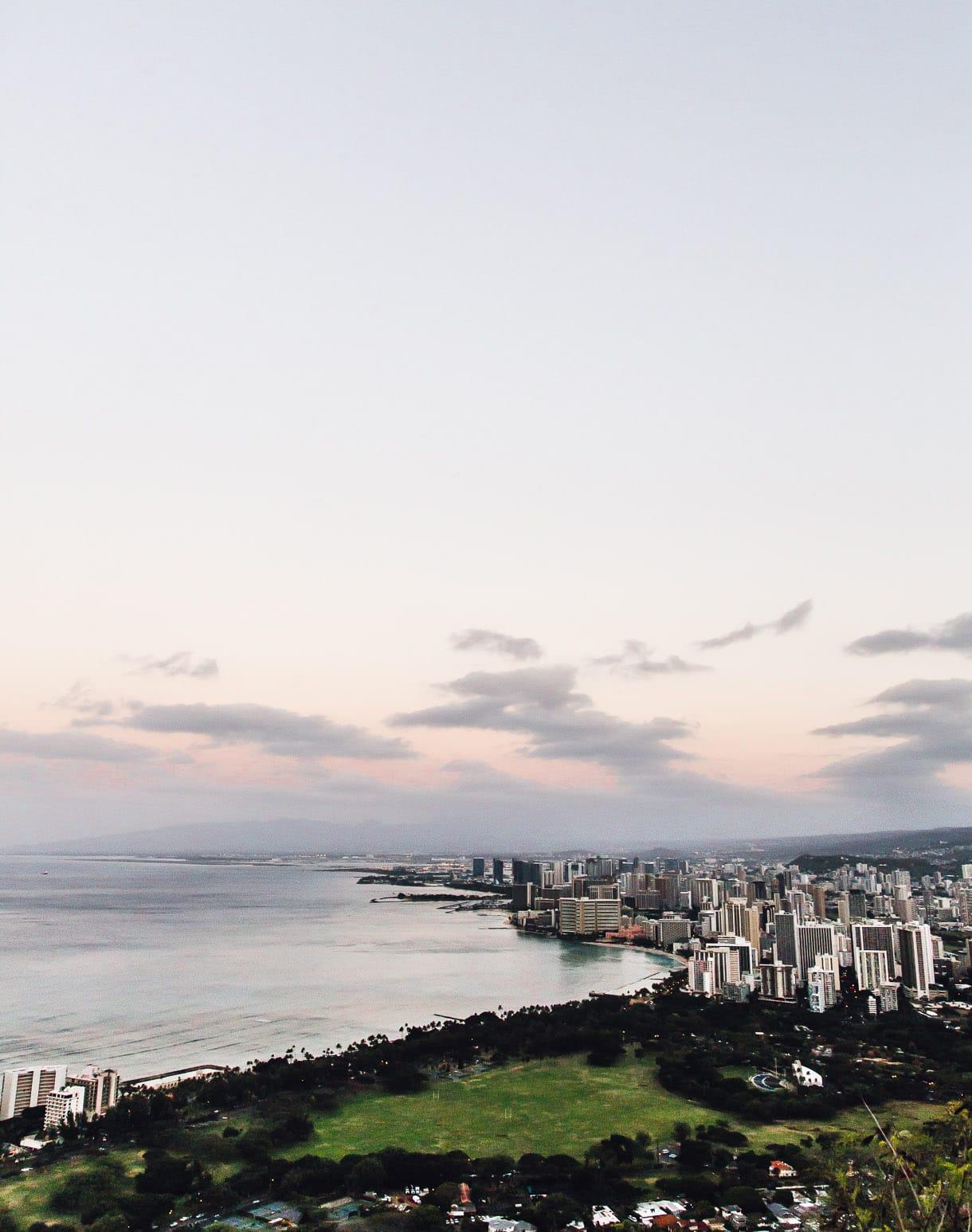 City View from Diamond Head, Oahu