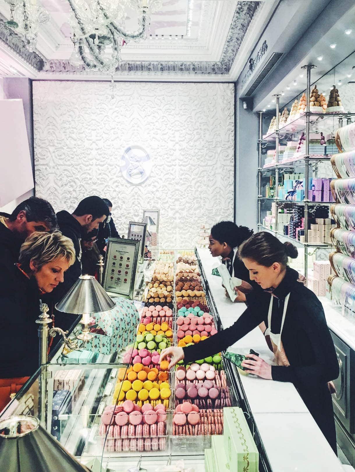 Ladurée Macarons - Paris shop