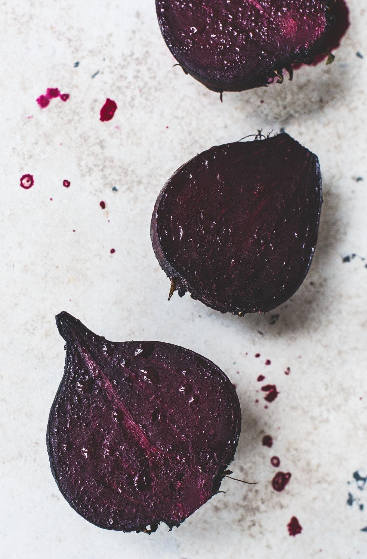 Roasted beets for salad