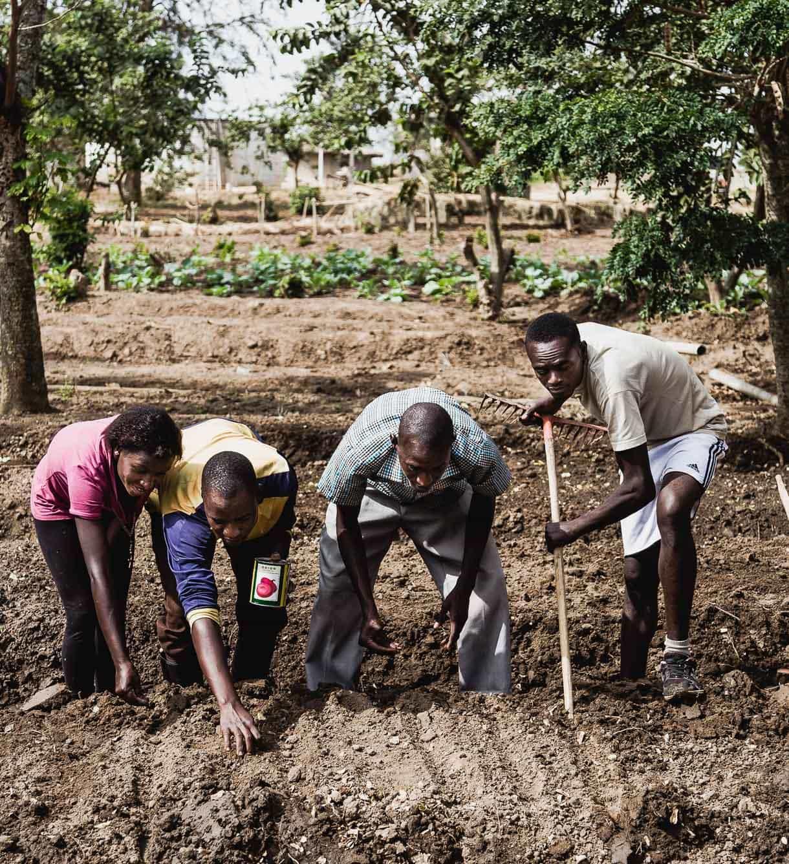 Nakivale, Uganda, Women's empowerment gardening program
