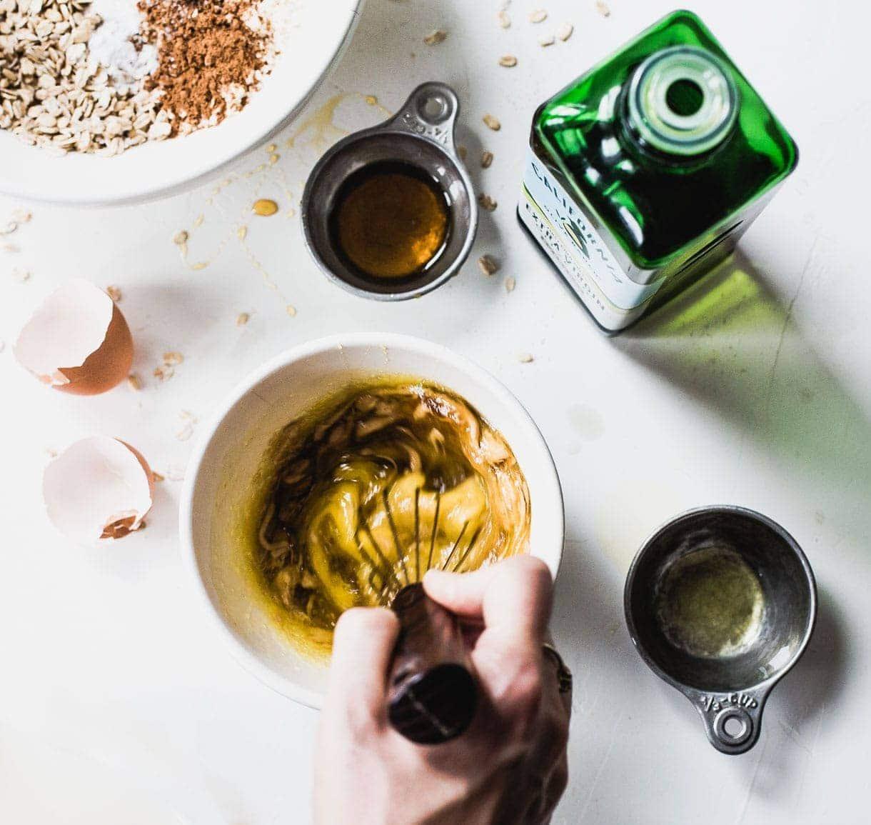 Soft Olive Oil Oatmeal Raisin Cookies {naturally gluten-free}