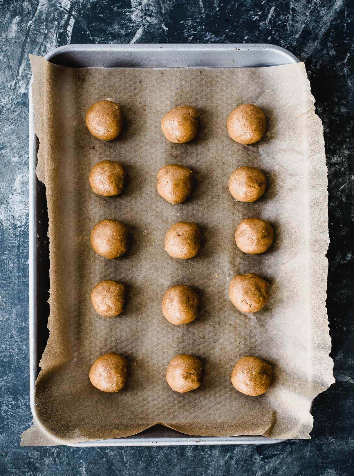 Chocolate Dipped Peanut Butter Cookie Dough Balls (gluten-free)