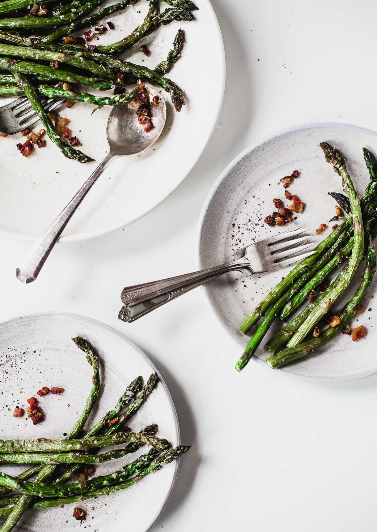 Best Asparagus Recipe Ever! With bacon and parmesan.