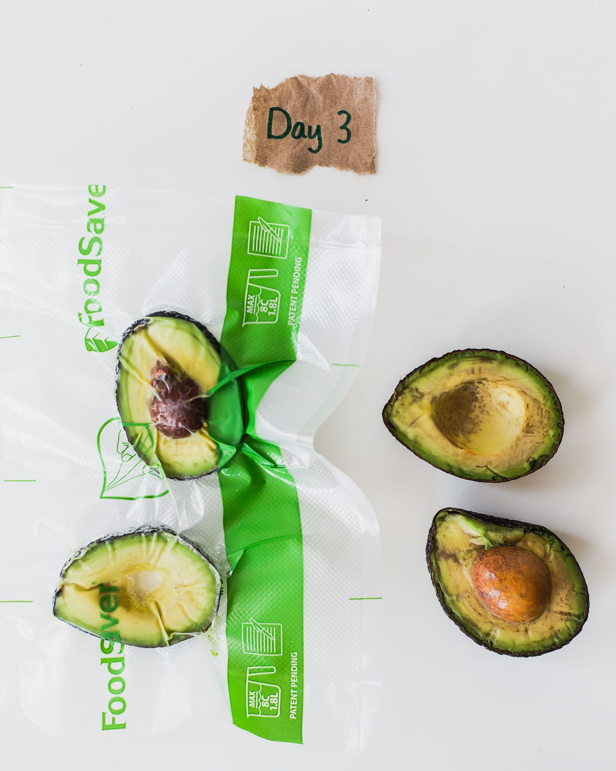 Will a FoodSaver keep an avocado from turning brown?