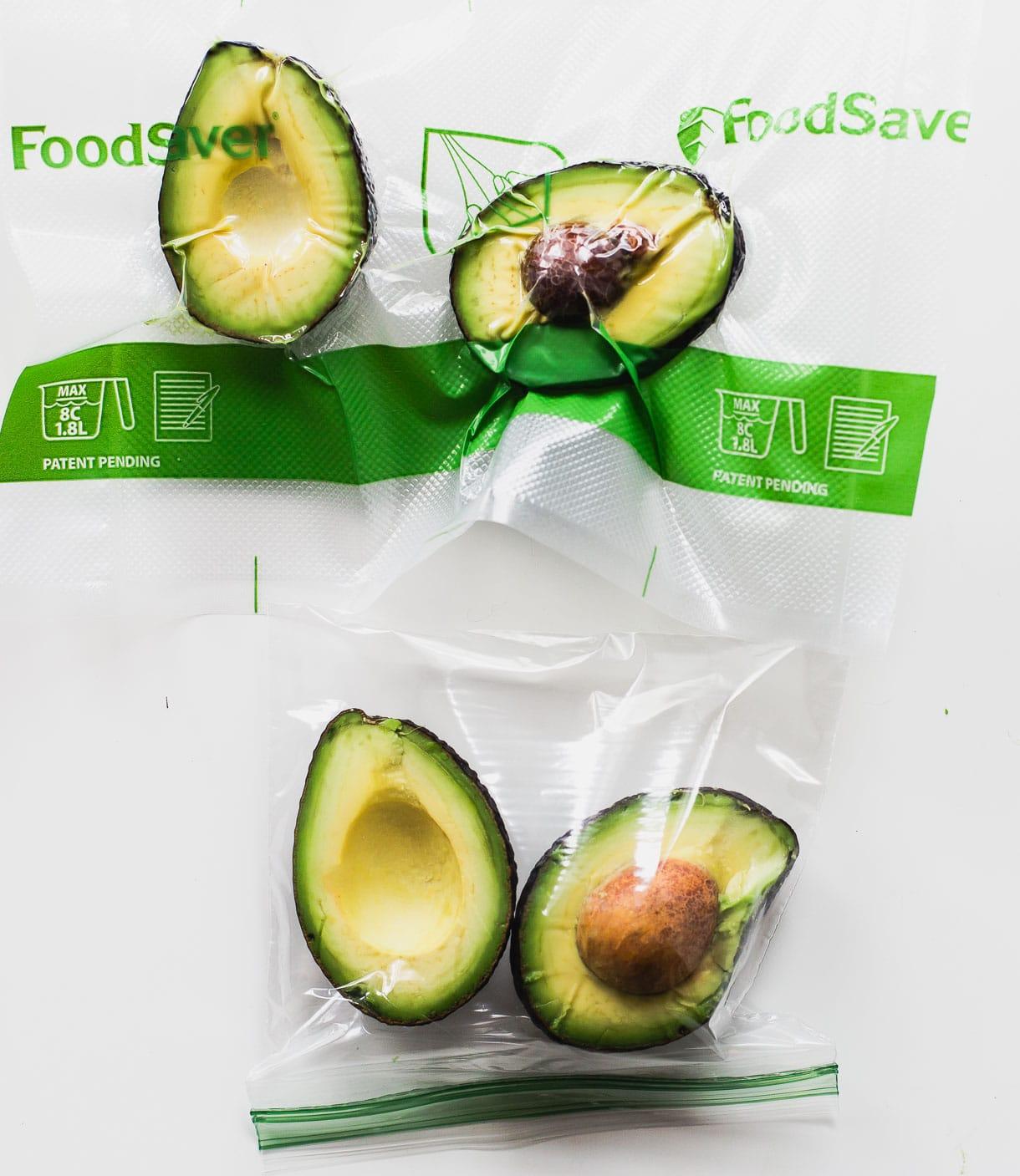 FoodSaver preserve avocado